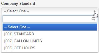 Company Standard
