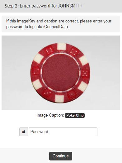 Enter Password ImageKey