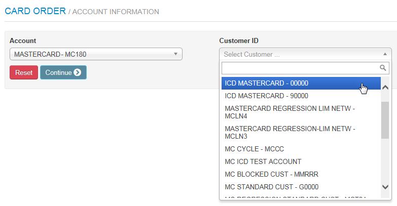 Order New Mastercard